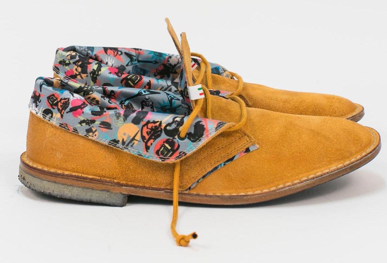 Le Crown  Desert Boot dai colori fluo e fantasie per l Estate 2013 ... dad4162f5be